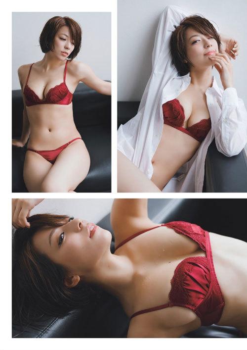 小瀬田麻由Fカップの美巨乳おっぱいに釘付け8