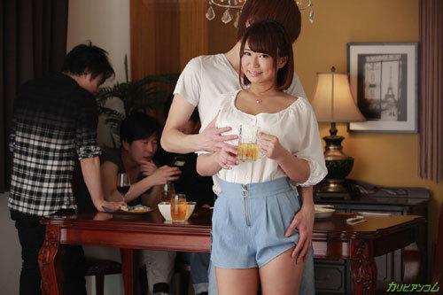 岡本理依奈Hカップ巨乳おっぱい2