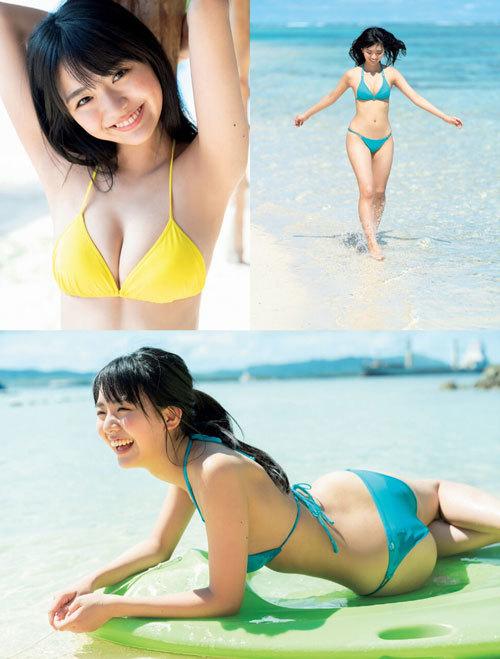 豊田ルナの現役女子高生の育ち過ぎなおっぱい32
