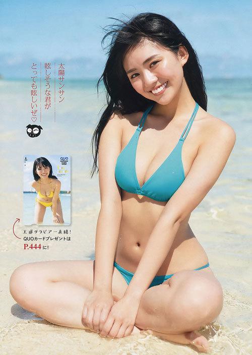 豊田ルナの現役女子高生の育ち過ぎなおっぱい42