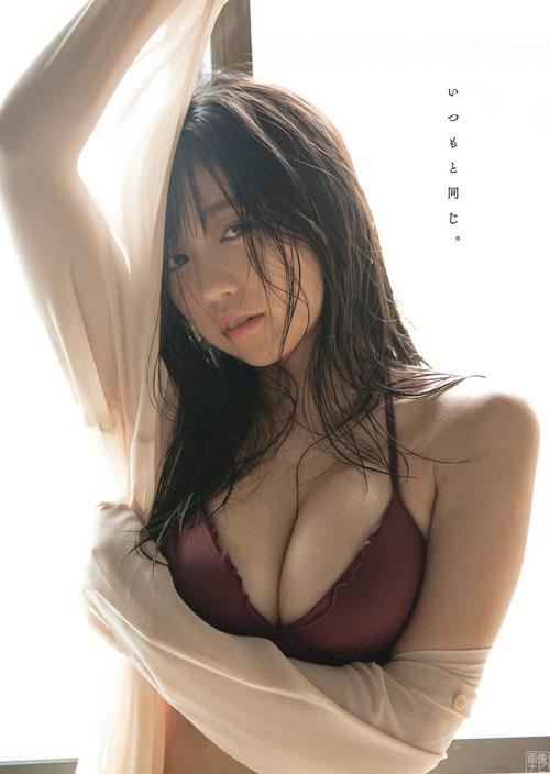 大原優乃 Fカップの癒やし系爆乳グラビア画像
