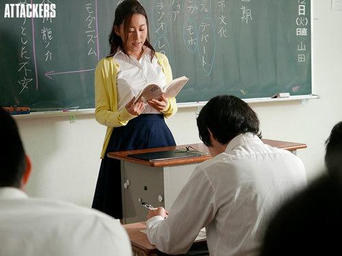 かつて文学少女だった国語教師が、いつしか情事に溺れて…。 松下紗栄子3