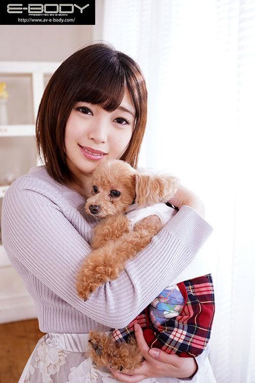 プニプニ柔らか天然Hカップ犬好き優しい飼育員りかちゃんの発情期AVデビュー 双葉りか4