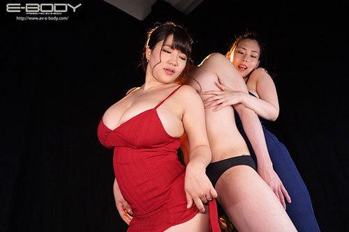 MカップKカップ超乳女体サンドイッチ逆3Pハーレム 吉根ゆりあ 優月まりな10
