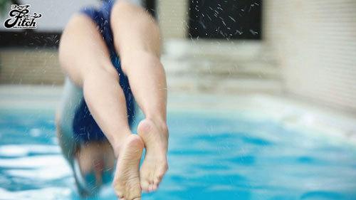 競泳歴17年!華々しい受賞歴を持つ21歳の肉体美 長身美人 競泳アスリートAVデビュー 寺川彩音1