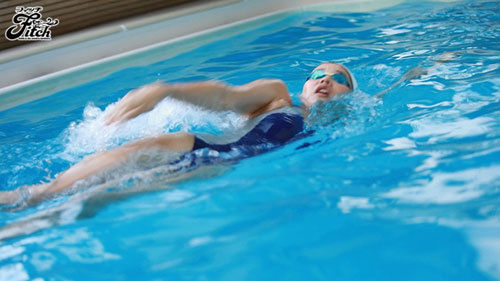 競泳歴17年!華々しい受賞歴を持つ21歳の肉体美 長身美人 競泳アスリートAVデビュー 寺川彩音2