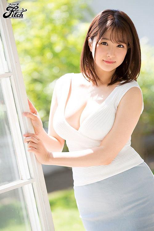 新人 元地方局アナウンサー 流田みな実AVデビュー!! 瞳を潤ませさらけ出す美巨乳と女盛りのカラダ1