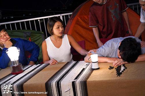 テントNTR ~キャンプで夫の上司に脅迫されてテントの中で秘密をつくってしまった寝取られ話し~ 今井夏帆12