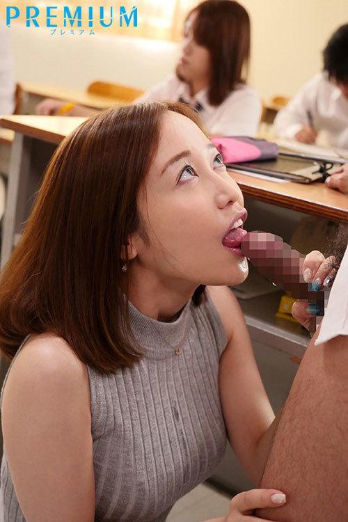 先生のフェラ彼女のよりすっごいよ?~彼女がいる生徒に追撃フェラチオ女教師~ 篠田ゆう6