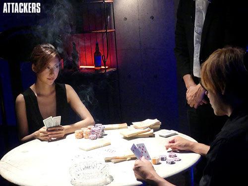 女ギャンブラー 黒薔薇 松下紗栄子6