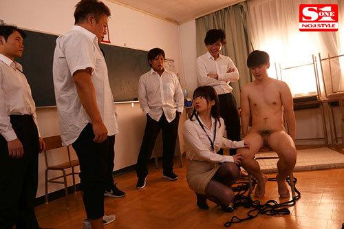 輪●レ○プされた新任女教師 ~恋人の目の前で生徒たちに犯●れた私~ 桜羽のどか5