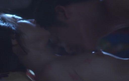 【安達祐実】胸元まで赤くして悶える濡れ場