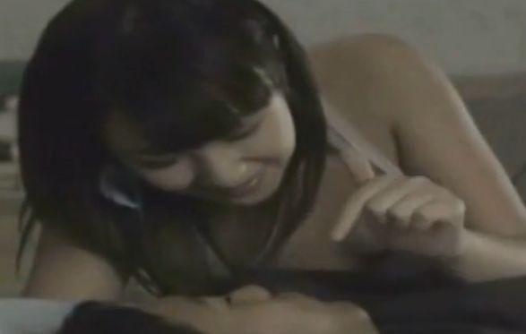 【橋本甜歌】背徳行為への欲望を煽り立てる濡れ場