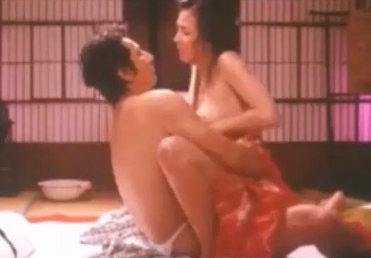 【杉本彩】性的奉仕をして満足させる濡れ場