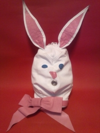 ウサギ全頭マスク