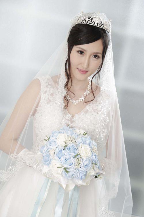 美月アンジェリア - 美月アンジェリアがぼくのお嫁さん ~ウェディングドレスに透けた美乳~ 01