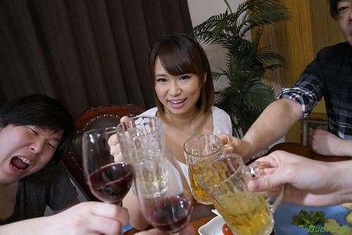岡本理依奈 - サークルの飲み会で乱交NTR ~楽しく5Pで中出しポンポーン~ 06