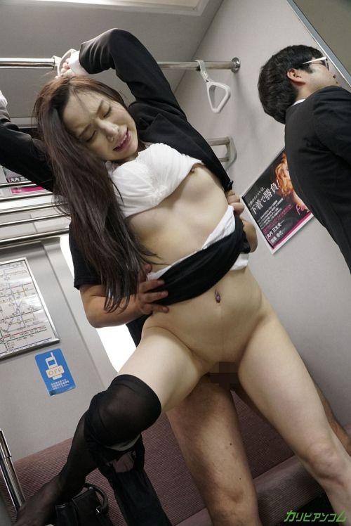 吉岡蓮美 - 痴●電車 ~痴●待ちの美人OL~ 15