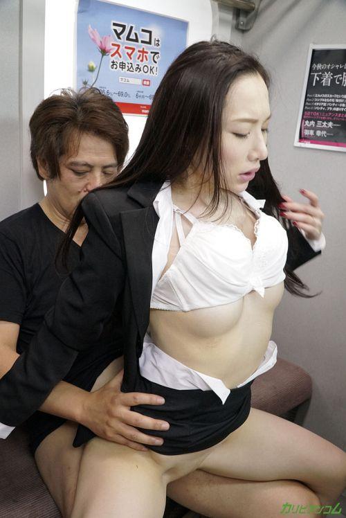 吉岡蓮美 - 痴●電車 ~痴●待ちの美人OL~ 16