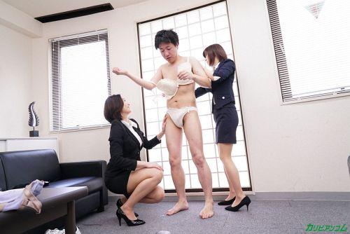 江波りゅう、折原ほのか - エスカレートする女上司たち ~下着開発部は女の戦場~ 05