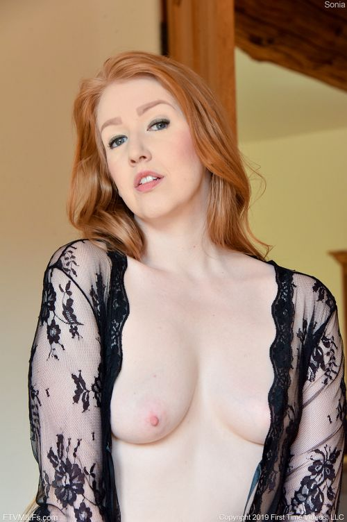 Sonia - LACY SHEER AND BLACK