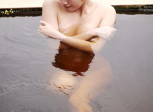 【放送事故】温泉番組、お湯が透けて中身丸見え!タオル無し全裸がくっきり見えるwww