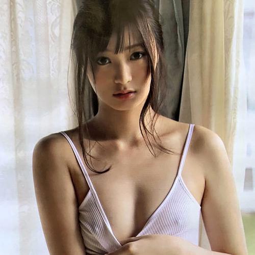 和田瞳 瞳の奥のヒミツでノーブラなのでキャミから乳首が透けて丸見え状態!