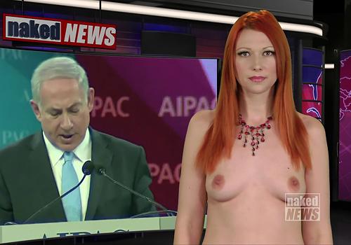【悲報】海外の女子アナさん、全裸報道で視聴率を稼ぐwwwwwwwwwwww(画像あり)