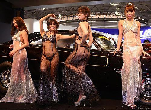オートサロンで毎年話題になるaiwaのキャンギャルエ□画像!