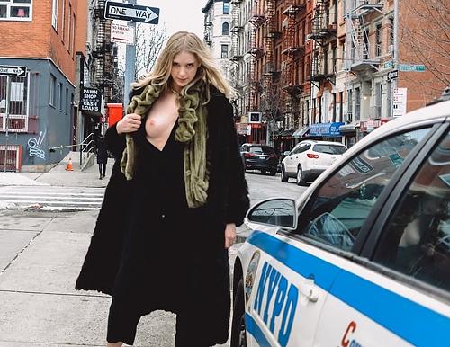 【マジキチ】世界の変態女さん、警察の目の前で行為に及ぶ・・・(画像あり)