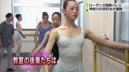 """""""バレエダンサー""""のテレビ見てたら8割チクビが見えてるんだけど・・・(画像あり)"""