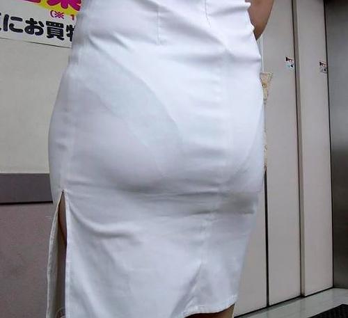 ナースさんという透けブラ・透けパン天使のエ□画像30枚