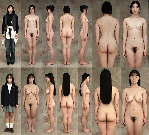 【素人】90年代の一般女性をモデルにした直立ヌード写真集がエ□い