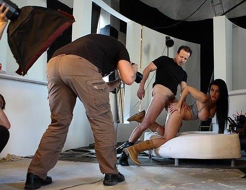 海外ポルノの撮影現場の光景。。もうハリウッドやんwwwwww(画像あり)