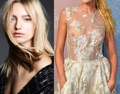 綺麗なファッションモデル、Maya Stepper の乳首がちょっと透けてるセクシー画像www