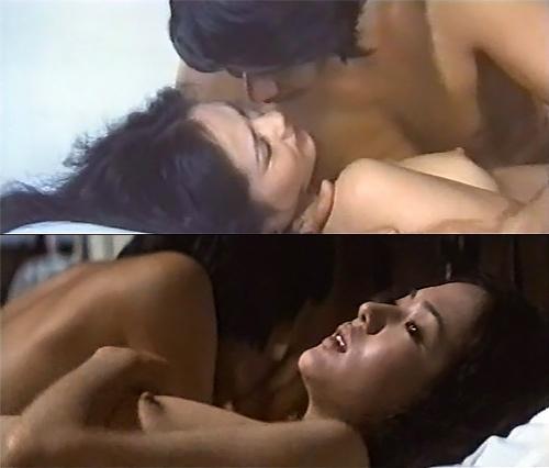 女優の五十嵐淳子さんが若い頃に見せてくれたヌードシーンのセクシーGIFwww 1