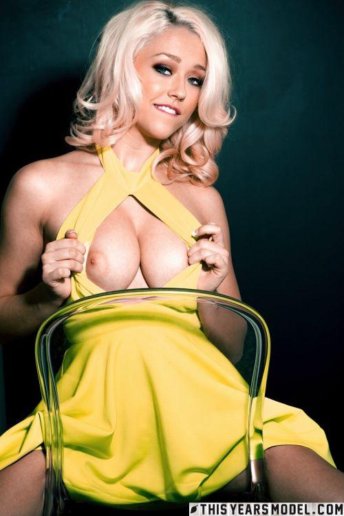 Sabrina Nichole - SABRINA DRESSES UP AS A DUMB BLONDE 04