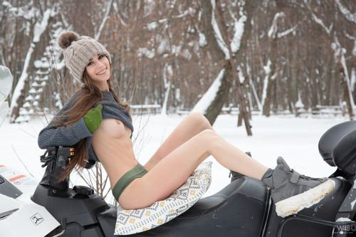 Leona Mia - SNOWMOBILE 05