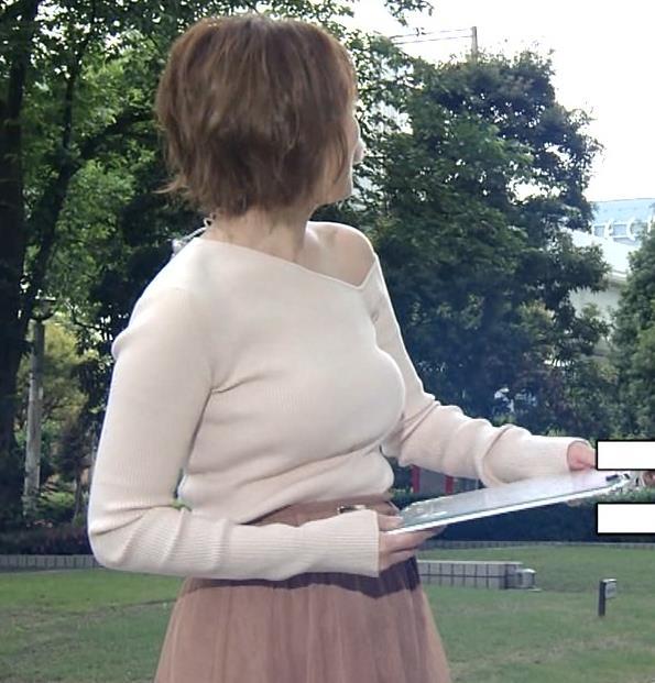 阿部華也子 おっぱいがエロ過ぎなのに肩まで露出しているキャプ・エロ画像10