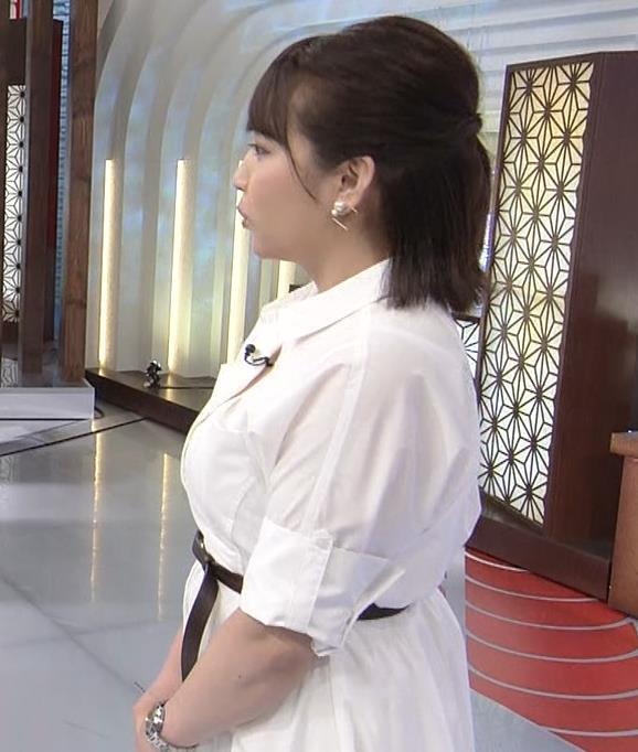 相内優香アナ 爆乳横乳キャプ・エロ画像