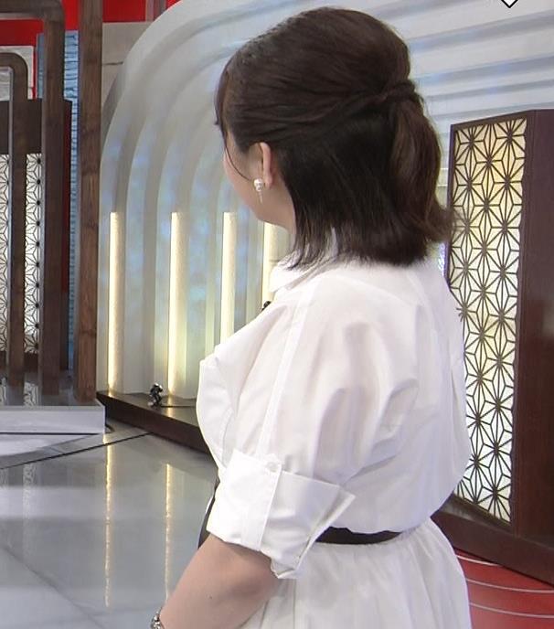 相内優香アナ 爆乳横乳キャプ・エロ画像4