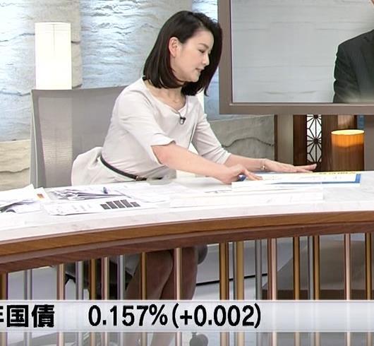 秋元玲奈アナ おっぱいが際立つキャプ・エロ画像7