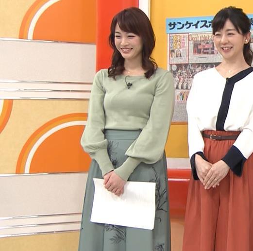 新井恵理那アナ エロい横乳キャプ・エロ画像5
