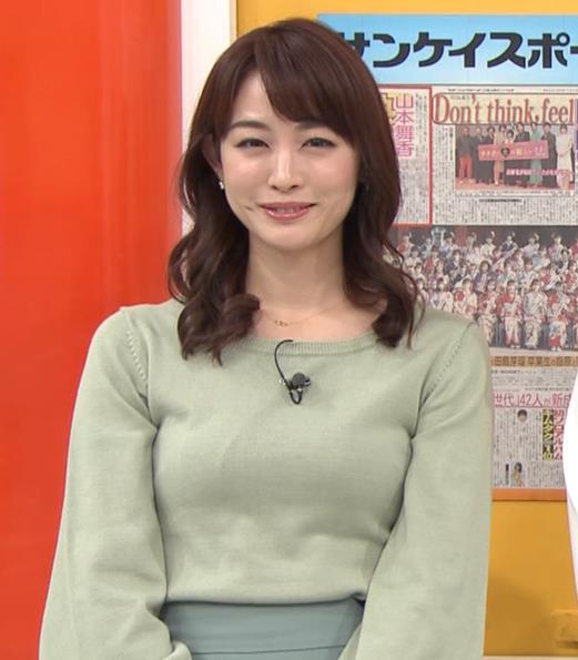 新井恵理那アナ エロい横乳キャプ・エロ画像6