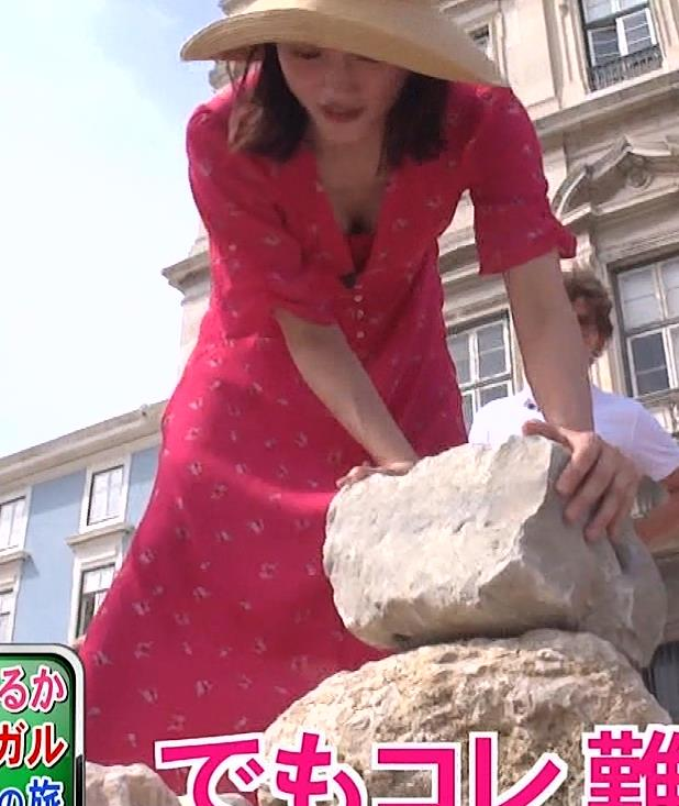 綾瀬はるか 思いっきり胸チラキャプ・エロ画像6