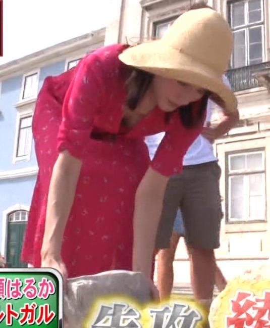 綾瀬はるか 思いっきり胸チラキャプ・エロ画像7