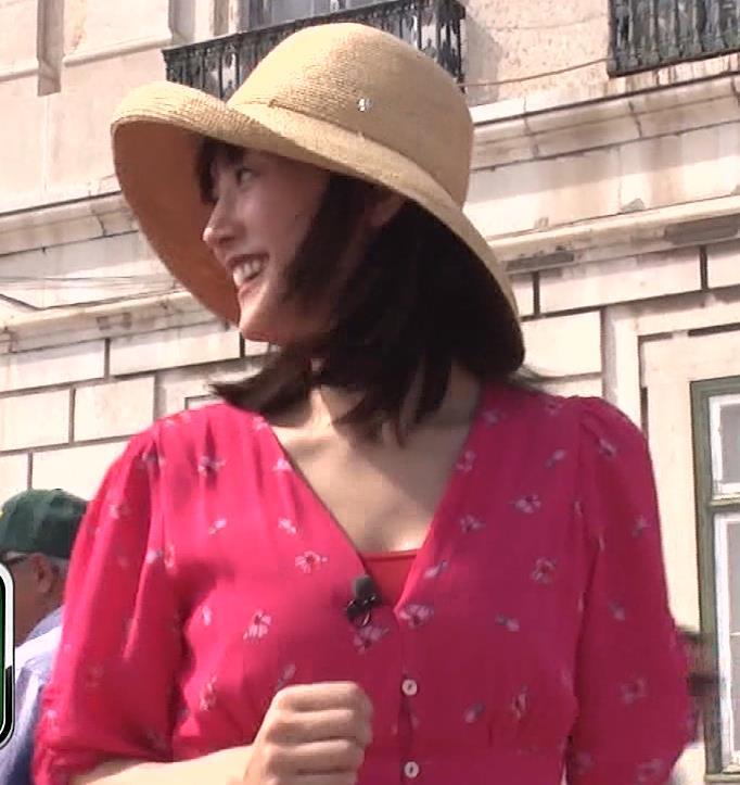 綾瀬はるか 思いっきり胸チラキャプ・エロ画像8