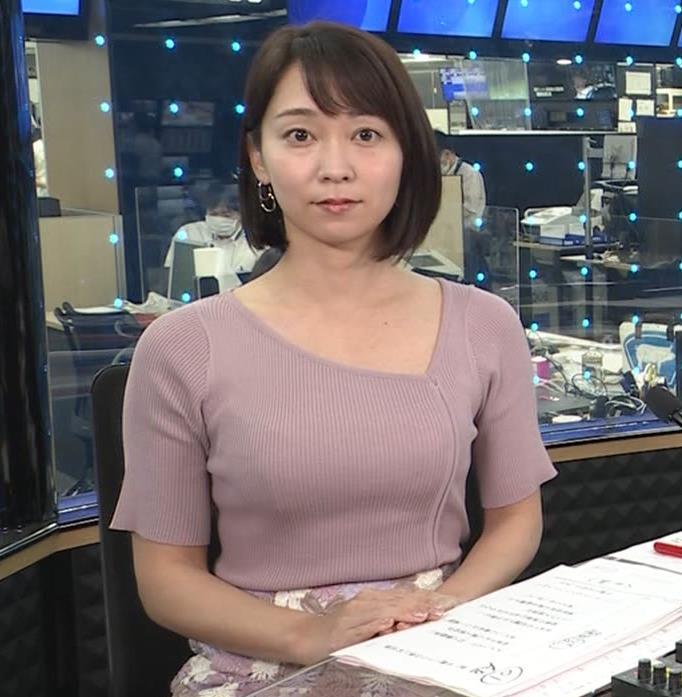 出水麻衣アナ おっぱい、エロいキャプ・エロ画像3