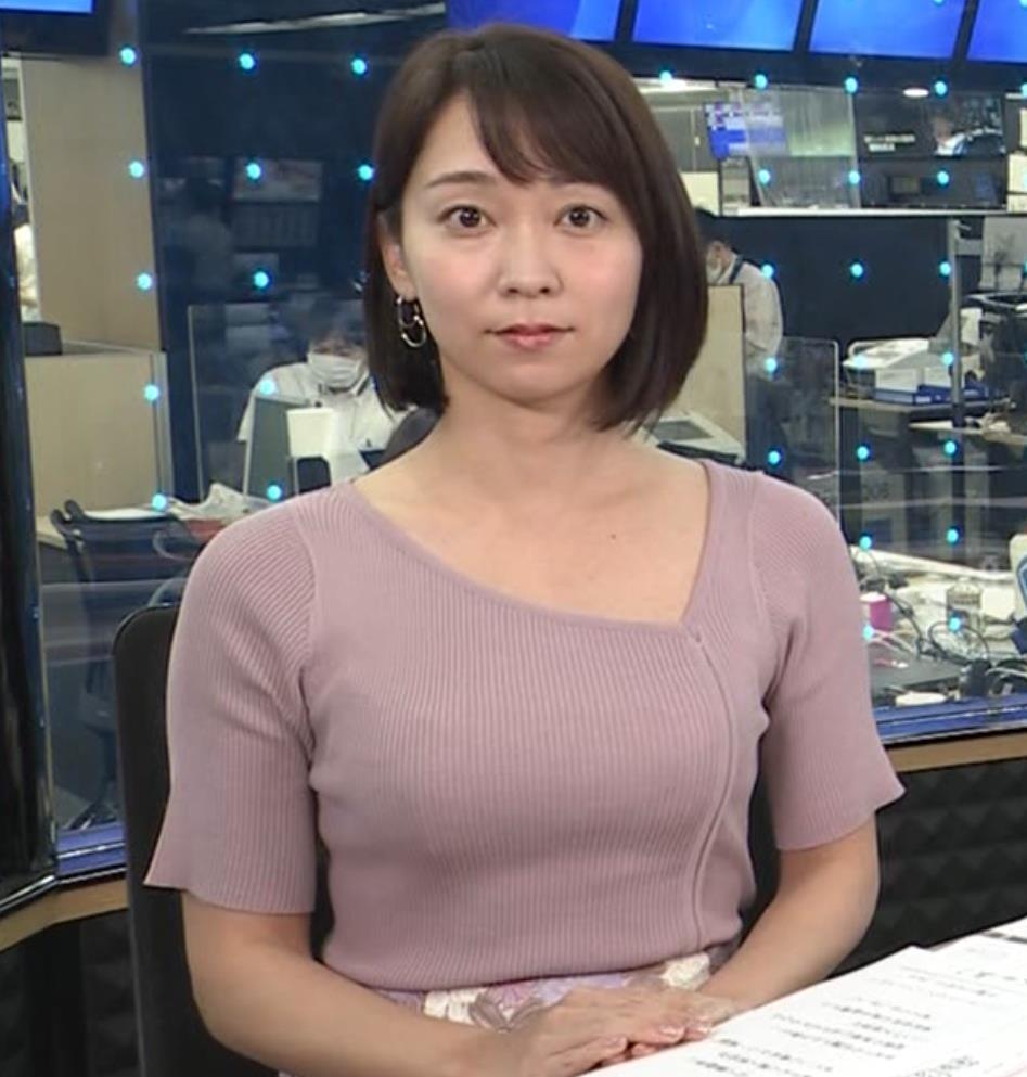 出水麻衣アナ おっぱい、エロいキャプ・エロ画像4