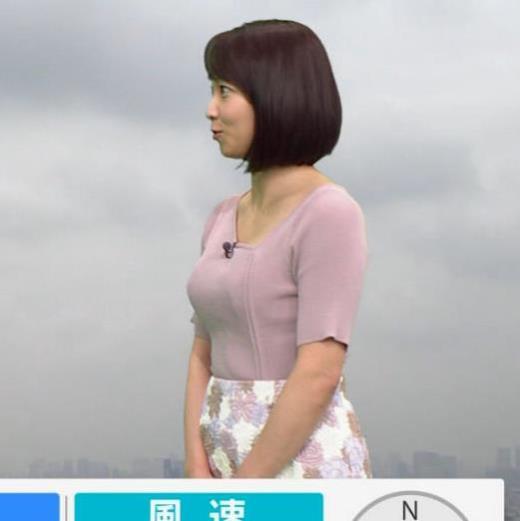 出水麻衣アナ おっぱい、エロいキャプ画像(エロ・アイコラ画像)